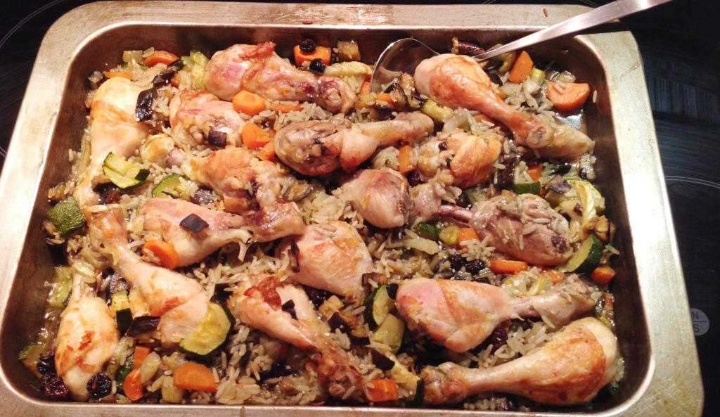 Marokkansk-kylling