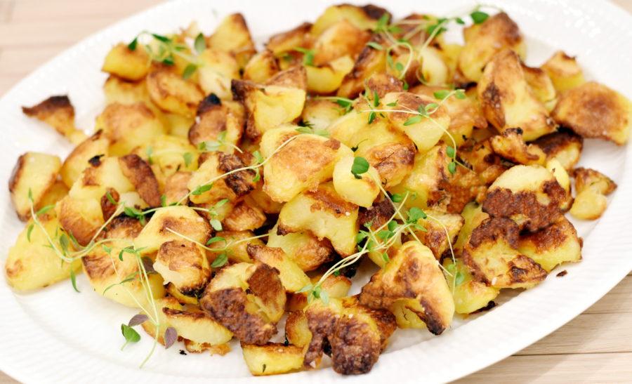 skrællede kartofler i vand holdbarhed