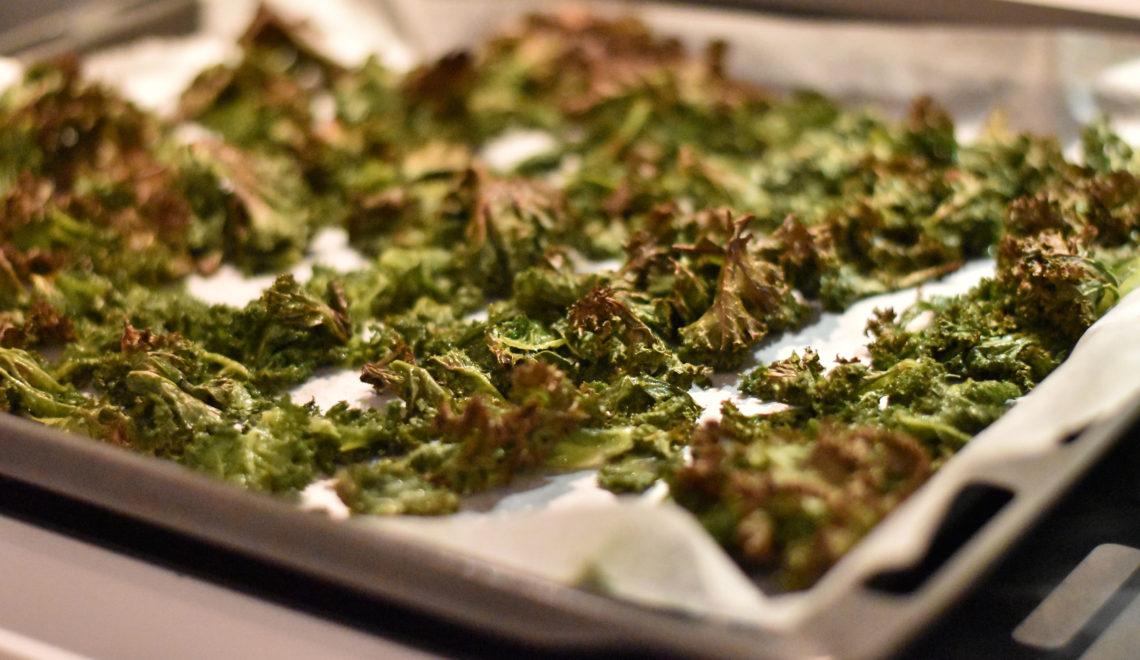 Grønkålschips