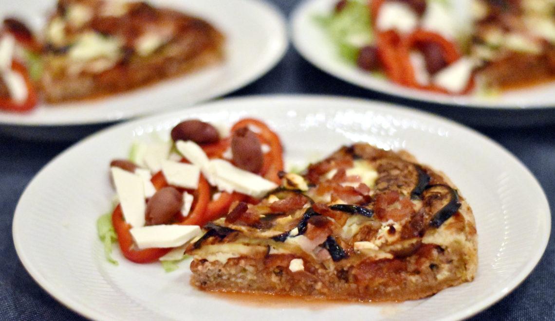 Græsk tærte med aubergine