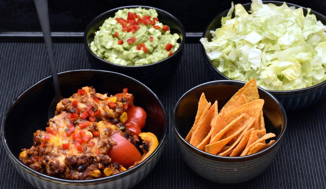 Tacofad med nachos tilbehør