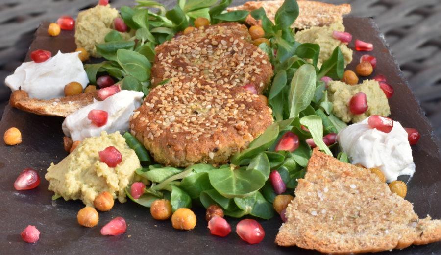 Kikærtefest er dejlig vegetariske gæstemad til frokost eller forret