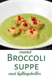 Broccolisuppe