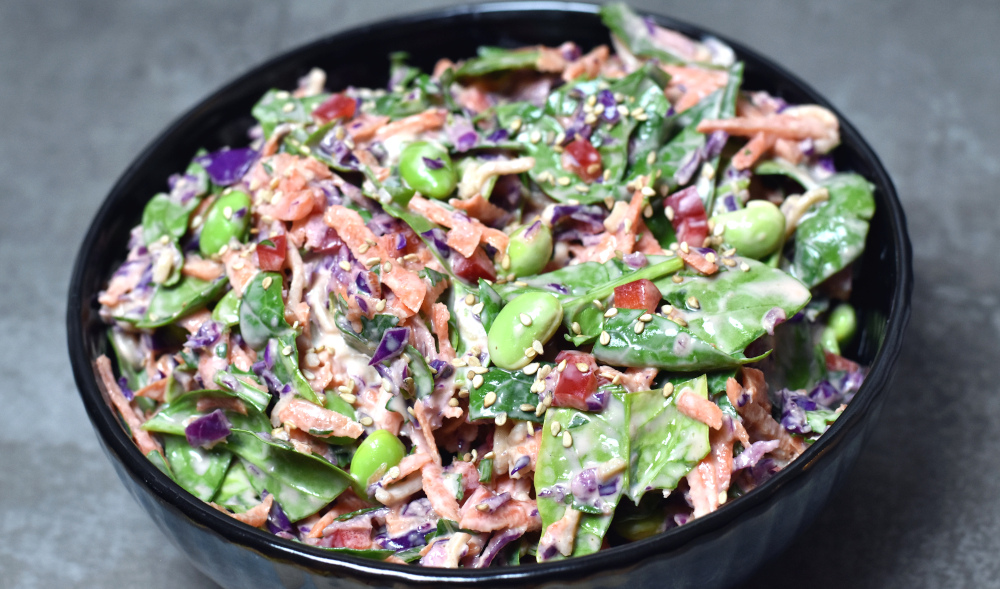 Broget coleslaw
