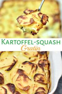 Kartoffel-squashgratin