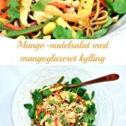 Mango-nudelsalat