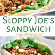 Sloppy Joe's sandwich