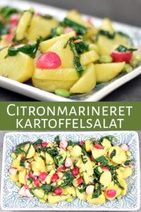 Citronmarineret kartoffelsalat