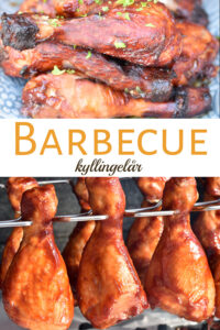 Barbecuremarineret kyllingelår