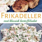 Frikadeller og kartoffelsalat