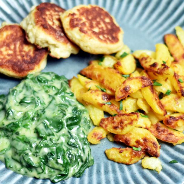 Sprøde kartoffelfritter