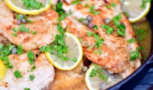 Kylling scallopini