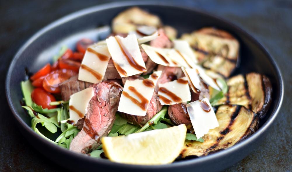Steak rucola