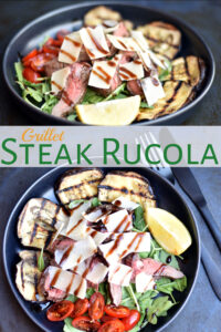Steak rucola