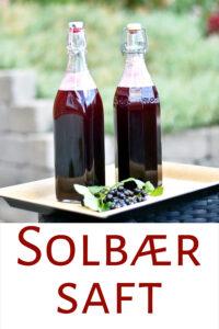 Hjemmelavet solbærsaft