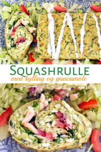 Squashrulle med kylling