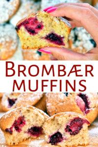 Brombærmuffins