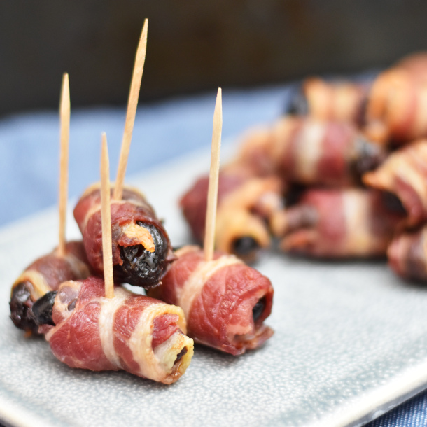 Dadler med bacon