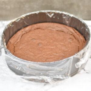 Browniemoussekage