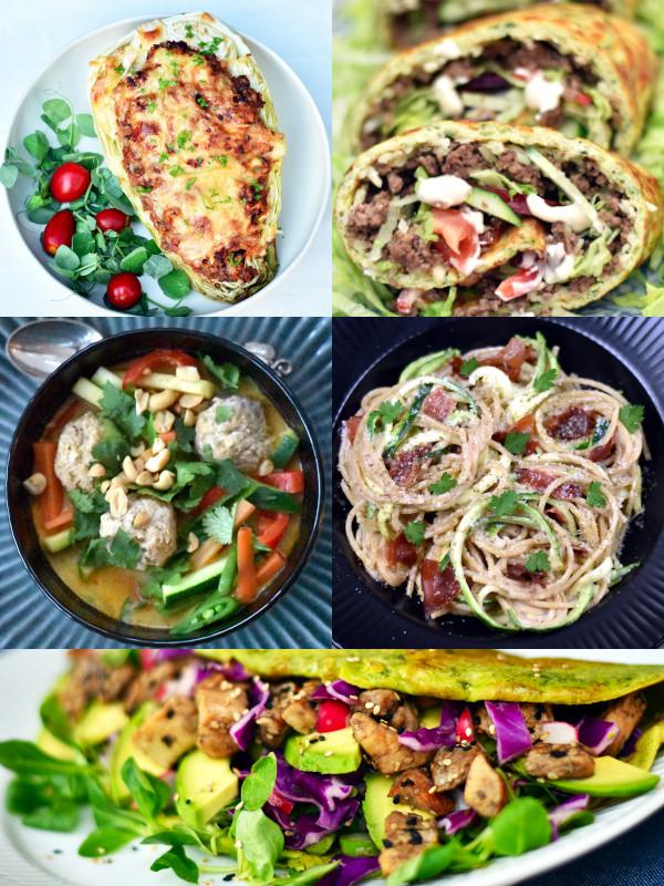 Inspiration til sund aftensmad. Lav alle familefavoritterne i en sundere udgave.