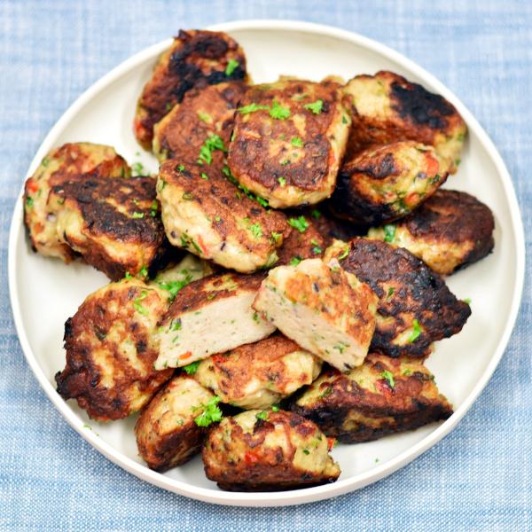 Kyllingefrikadeller