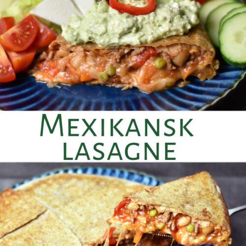 Mexikansk lasagne