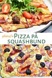 Pizza på squashbund