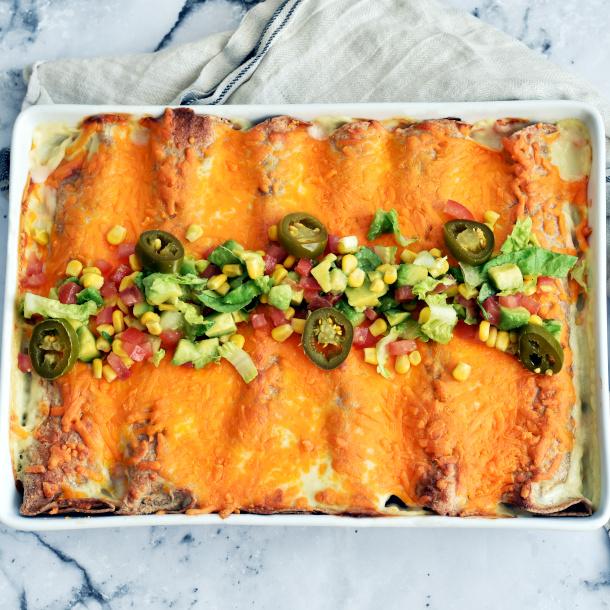 Enchilada med kylling